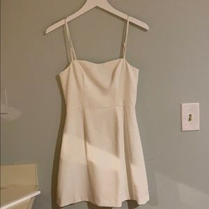 French Connection White A Line Dress Sz 2